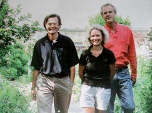 Niek, Jacqueline en Stan 1998