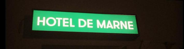 lichtbak Hotel de Marne